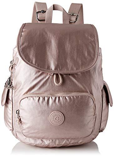Kipling Damen City Pack S Rucksack Pink (Metallic Rose)
