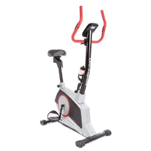 Ultrasport Home Trainer Ergometro Racer 900M Cyclette con Sensori delle Pulsazioni nel Manubrio e Borraccia, Supporta il Consumo di Grassi, 8 Livelli di Resistenza Selezionabili Manualmente