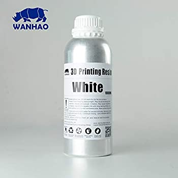 Wanhao 22343 Impresora 3d UV Resin, 1000 ml, transparente: Amazon ...