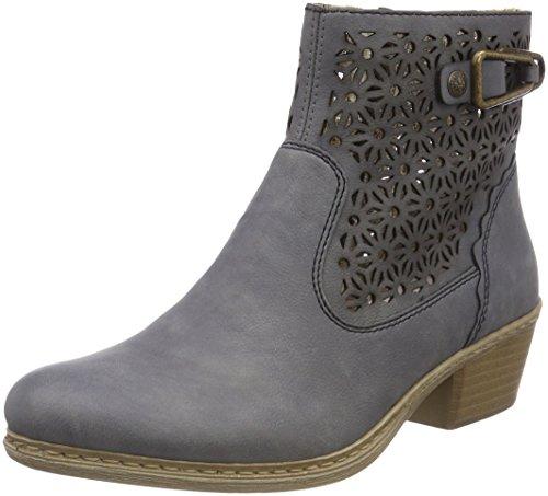 Rieker Damen 75586 Desert Boots, Blau (Jeans), 36 EU