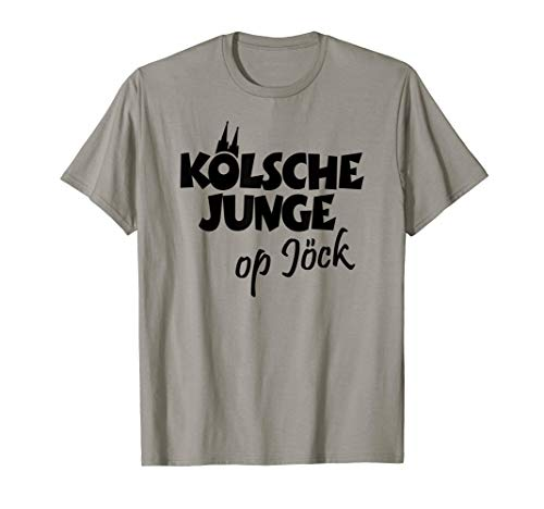 Kölsche Junge Op Jöck (Schwarz) Kölner aus Köln auf Tour T-Shirt
