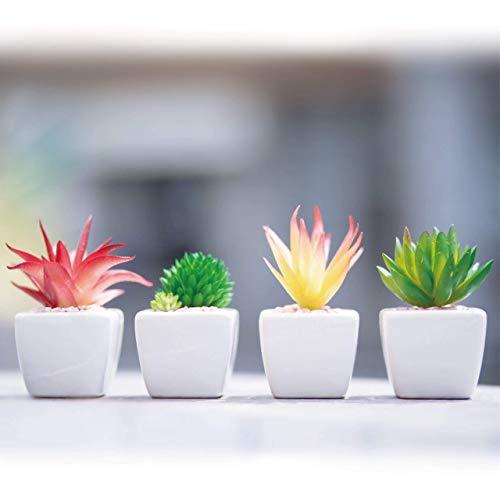 G.ROOM(グリーンルーム) 人工観葉植物 ミニ 人工多肉植物 室内 おしゃれ セット(4個)