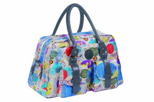 Lässig Wickeltasche Vintage Metro Bag, Oilcloth multicolor