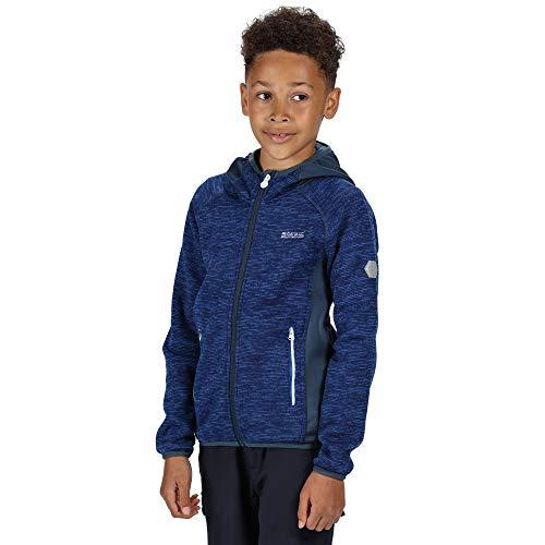 Regatta Kinder Dissolver II Heavyweight Outdoor Kids Fleece, blau, 27 EU-28 EU