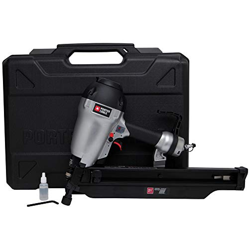 PORTER CABLE FR350BR 22-Degree Full Round Head Framing Nailer Kit, 3-1/2' (Renewed)