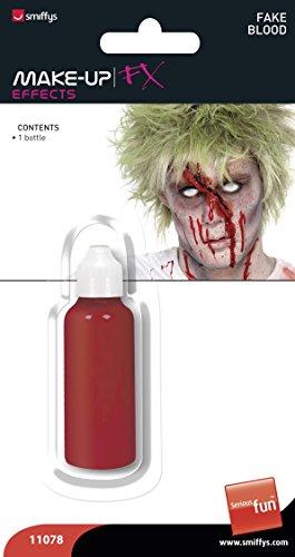 Smiffys Vampir-Blut, Flasche, Time 4 Fun, 28ml, Rot, 11078