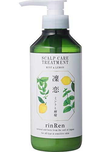 凜恋/rinRen(リンレン) レメディアル トリートメント ミント&レモン 400ml 【医薬部外品】 400ミリリットル (x 1)