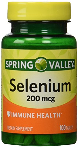 Spring Valley - Selenium 200 mcg, 100 Tablets