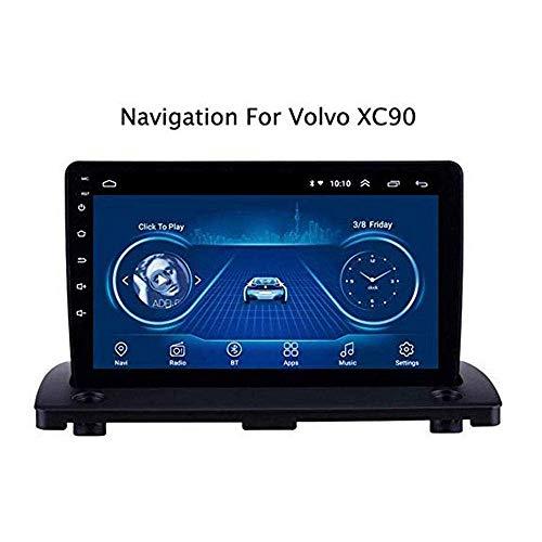 ZL Sat NAV Android 8.1 Doppel-DIN-Head Unit Autoradio für Volvo XC90 2004-2014 GPS Navigation 9 Zoll Touch Screen Multimedia-Player-Radio-Empfänger Carplay DSP RDS