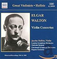 Heifetz - ELGAR・WALTON : Violin Concertos