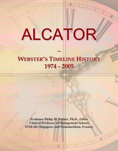 ALCATOR: Webster's Timeline History, 1974 - 2005