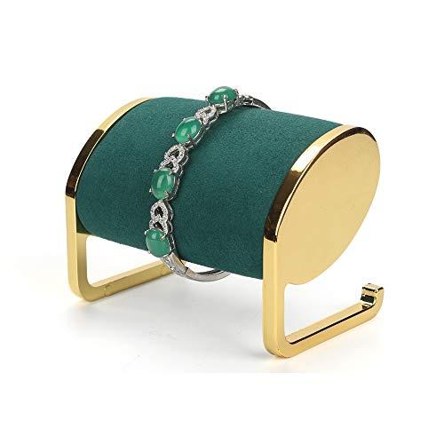Reloj Monitor Estan Vendaje Mesa Decoración Joyería Almacenamiento Bandeja Casa Artesanía Exquisito Forma/Green / 9.4x6x6.8cm