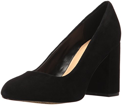 Bella Vita Women's Nara Dress Pump, Black Kid Suede, 9.5 M US