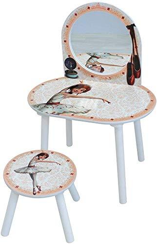 Einfaches Design kleines Kind Tänzer Stuhl Kommode,Beige