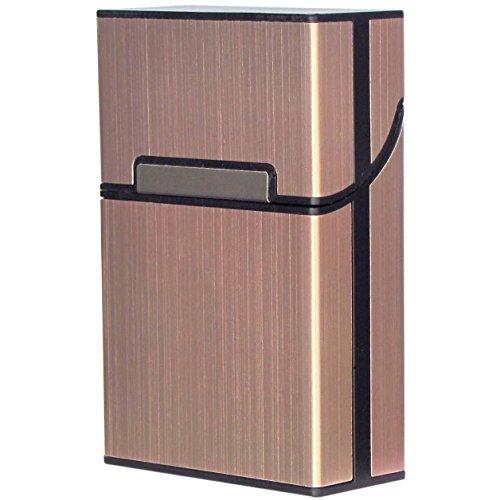 Diawell Zigarettenetui Edel Zigarettenbox Aluminium Etui Box Behälter mit Magnetverschluss für 20 Zigaretten Zigarettenschachtel Schachtel