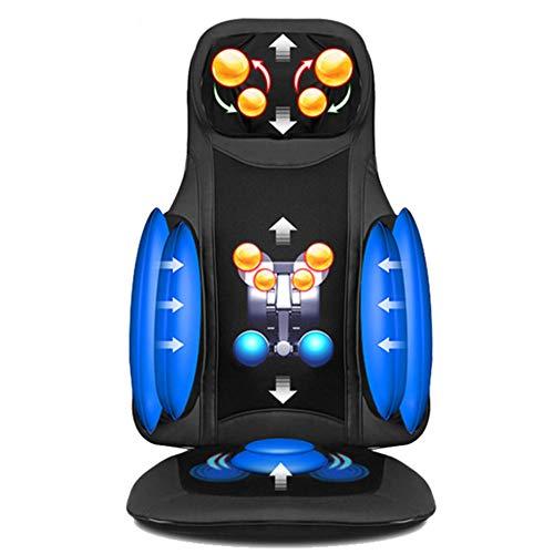 CGBF-Seduta Massage Chair Pad Massage Mat met calorieën, diepe deegstof Rulli, verstelbare halsuitsnijding, Relax Collo/Schouder/Rug/Muscoli Dell'anca