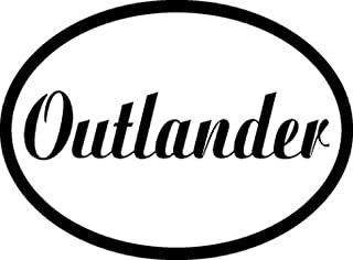 Flag It Outlander Decal for auto, Truck or Boat