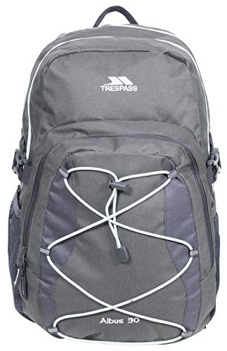 Trespass Albus Backpack/ Rucksack - Carbon, 30 Litres