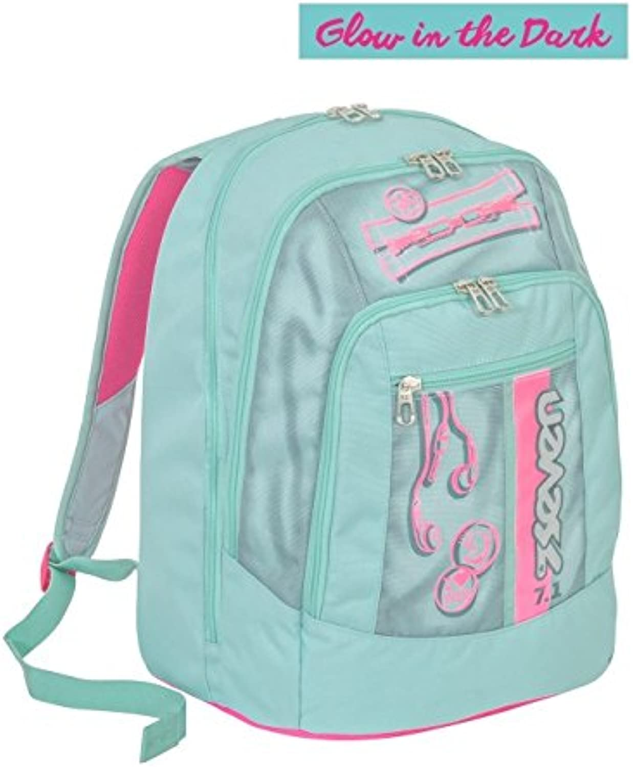 genuina alta calidad Backpack Seven Advanced Advanced Advanced Colorful Girl verde  El nuevo outlet de marcas online.