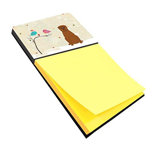 Caroline 's TreasuresクリスマスPresents間Friends Dogue De Bourdeaux Sticky Noteホルダー、マルチカラー(bb2545sn)
