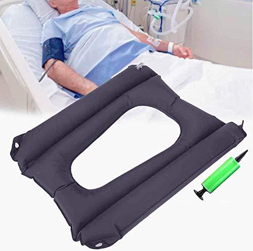 Cojines inflables – Almohadilla de lactancia para personas mayores en cama discapacitados, transpirable y comodidad para aliviar el dolor, adecuado para silla de ruedas y silla de inodoro