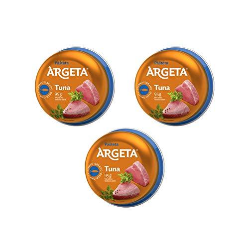 Argeta Thunfisch Aufstrich (Packung mit 3 x 95g)
