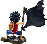 Figure d'azione Anime figura figura pirata ruzzolo sventolando bandiera pirata flag rubby modello re ornamenti box imballaggio adatto for l'animazione fiera bambini s decorazione della camera (Colore: