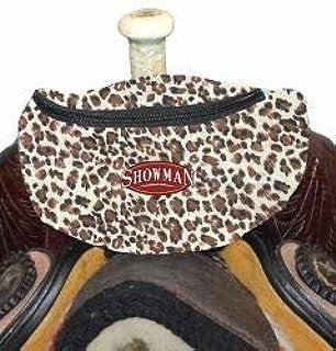 Showman Black Heavy Nylon Cooler Saddle Bag Horse Tack Equine 6026