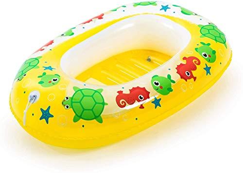 Bestway Kiddie Raft - Bote hinchable para niños, 102 x 69 cm, varios colores, 34037, amarillo