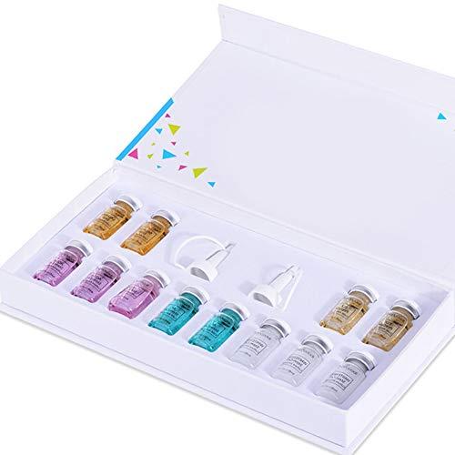 Anti Aging Kit Esencia, Esencia de la cara de maquillaje líquida Primer Fundación Anti arrugas y el acné Conjunto para la piel facial cuidado de la belleza (Sólo Esencia)