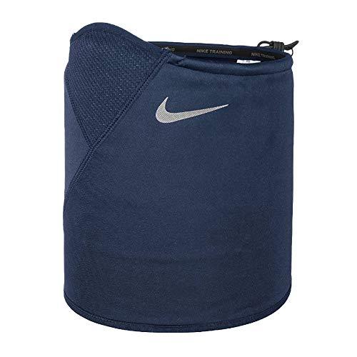 Nike Erwachsene Therma Sphere Adjustable Neck Warmer 481 Schal, Thunder Blue/Dark OBS, One Size
