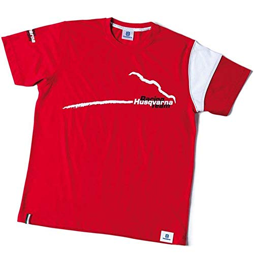 Husqvarna T-Shirt rot Kids 7-8 Jahre Racing Team