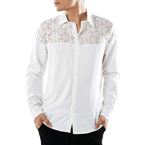 Tops Blouse Homme T-Shirt Sweater Sweatshirt,❤ Surpass-1 Longues Hommes Fashion T-Shirts Chemises Casual Manches Longues Men's Slim Long Sleeves Tops T-Shirts Tee