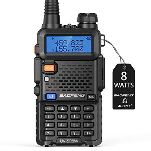 Walkie Talkies 2 Way Radio BaoFeng Radio Series UV-5R High Power Tri-Power CB Portable Ham Two Way Radio with 1800mAh Battery