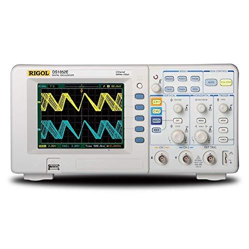 Rigol DS1102E 100MHz Digital Oscilloscope, Dual Analog...