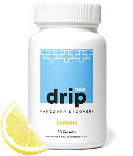 Take Drip Hangover Prevention Pills - TOP Rated Formula - Liver Support & Nutrient Replenishment, Prevent Hangovers, Nightlife Prep Supplement, Dihydromyricetin (DHM), Prickly Pear, N-Acetyl-Cysteine