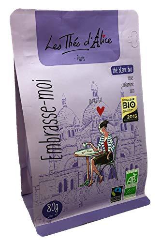 Weißer Tee Bio Raffhalter Ich : Rosa, Kardamone, Kokosfaser, 80 g