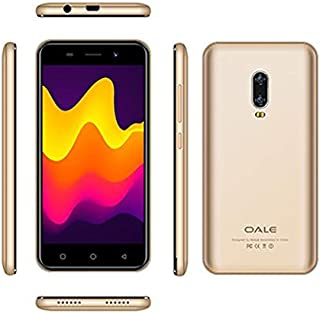 Oale P6S Mobile Phone, Smartphone,Face ID,Dual Sim, Android 8.1, Long standby, Gold