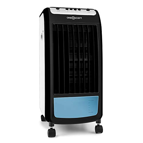 OneConcept Carribean Blue Air Cooler inkl. 2x Eisboxen