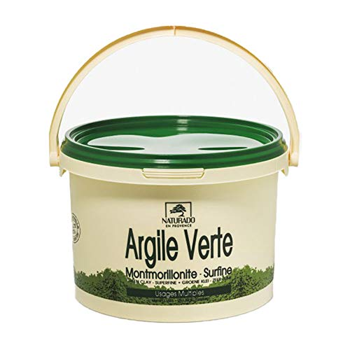 Naturado - Argile Verte Usages Multiples 2,5kg Naturado