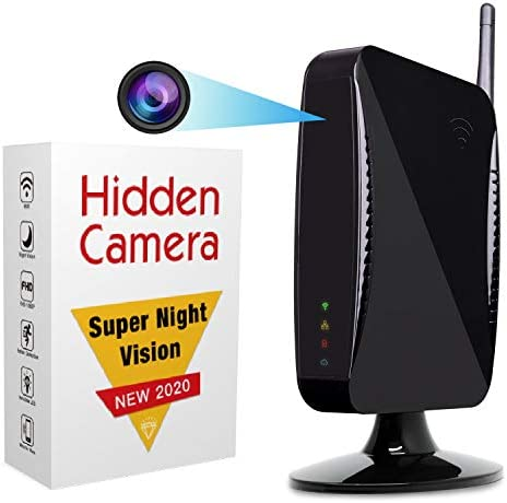 Hidden Camera Spy Camera by ISR WiFi 1080p HD Spy Cam Remote Access App Night Vision Motion product image