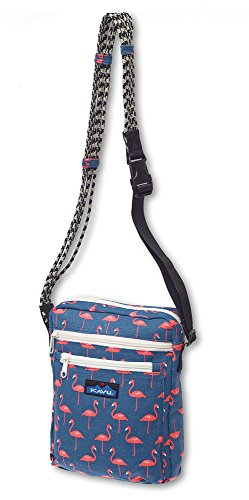 KAVU Women's Zippit Bag, Flamingo, One Size