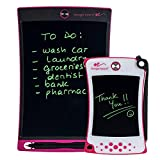 Boogie Board Jot Starter Kit with Jot Reusable Writing Tablet (8.5 in) and Jot Pocket Reusable Notepad (4.5 in), Pink