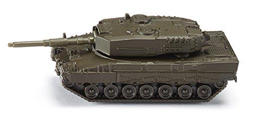 SIKU 0870, Panzer, Metall/Kunststoff, Dunkelgrün, Drehbarer Geschützturm