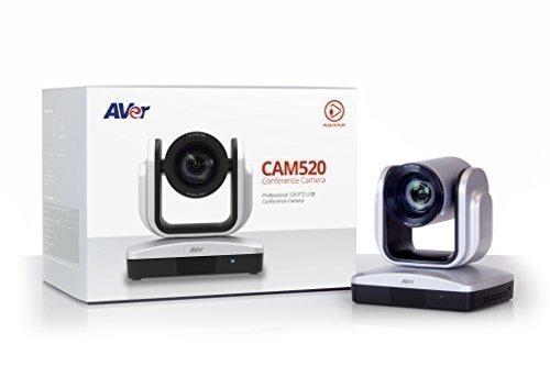 AVer Information CAM520 12X USB PTZ Plug-N-Play Conference Camera