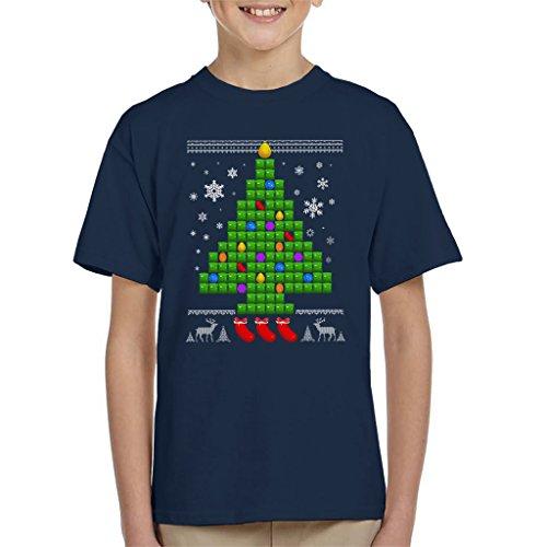 Candy Crush Chriatmas Tree Kid's T-shirt