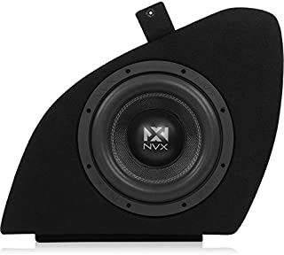 NVX Professional Grade Vehicle Specific, Optimized and Tuned Loaded Subwoofer Enclosure for Tesla Model S [BETSLASVCW104]