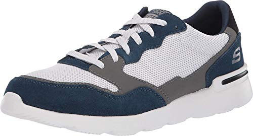 Skechers Men's Shoes City Sport Shoe. Soft Suede, Smooth Leather
