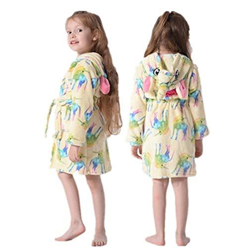 Kinder-Bademantel Kapuzen-Bademantel Kinder-Nachtwäsche-Pyjama Kinder-Bademäntel...
