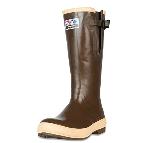 XTRATUF Legacy Series 15' Neoprene Men's Fishing Boots with Side Gusset, Copper & Tan (22279G)